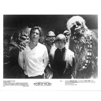 STAR WARS - THE RETURN OF THE JEDI Original Movie Still ROJ-7 - 8x10 in. - 1983 - Richard Marquand, Harrison Ford