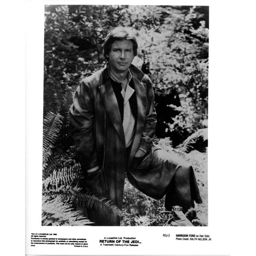 STAR WARS - THE RETURN OF THE JEDI Original Movie Still ROJ-3 - 8x10 in. - 1983 - Richard Marquand, Harrison Ford