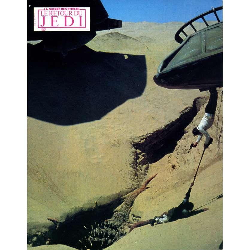 STAR WARS - LE RETOUR DU JEDI Photo de film N14 - 21x30 cm. - 1983 - Harrison Ford, Richard Marquand