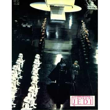 STAR WARS - THE RETURN OF THE JEDI Original Lobby Card N12 - 9x12 in. - 1983 - Richard Marquand, Harrison Ford