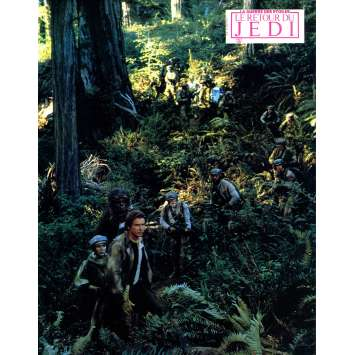 STAR WARS - THE RETURN OF THE JEDI Original Lobby Card N11 - 9x12 in. - 1983 - Richard Marquand, Harrison Ford