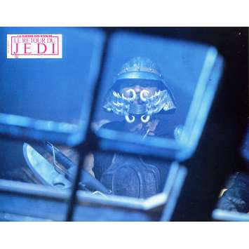 STAR WARS - THE RETURN OF THE JEDI Original Lobby Card N8 - 9x12 in. - 1983 - Richard Marquand, Harrison Ford