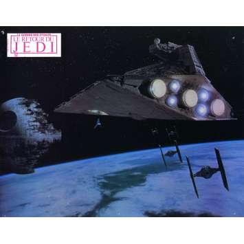 STAR WARS - THE RETURN OF THE JEDI Original Lobby Card N6 - 9x12 in. - 1983 - Richard Marquand, Harrison Ford