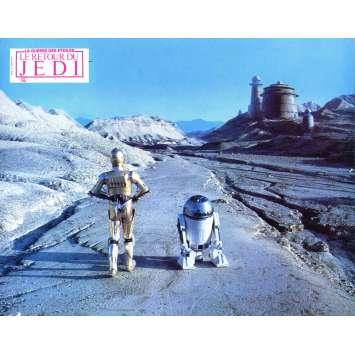 STAR WARS - LE RETOUR DU JEDI Photo de film N4 - 21x30 cm. - 1983 - Harrison Ford, Richard Marquand