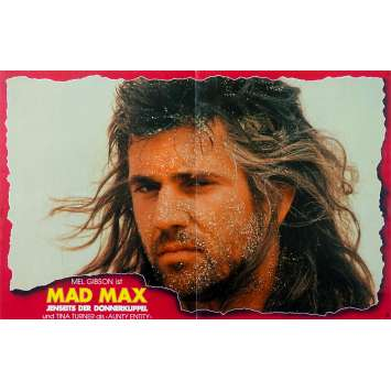 MAD MAX BEYOND THUNDERDOME Original Lobby Card - 9x18 in. - 1985 - George Miller, Mel Gibson, Tina Turner