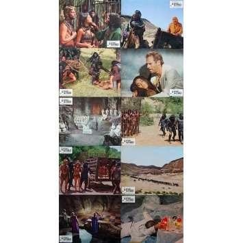 LE SECRET DE LA PLANETE DES SINGES Photos de film x9 - 24x30 cm. - 1970 - James Franciscus, Ted Post
