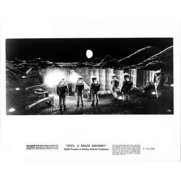 2001 L'ODYSSEE DE L'ESPACE Photo de presse 116 - 20x25 cm. - R1974 / 1968 - Keir Dullea, Stanley Kubrick