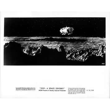 2001 L'ODYSSEE DE L'ESPACE Photo de presse 168 - 20x25 cm. - R1974 / 1968 - Keir Dullea, Stanley Kubrick