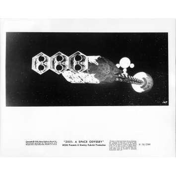2001 L'ODYSSEE DE L'ESPACE Photo de presse 169A - 20x25 cm. - R1974 / 1968 - Keir Dullea, Stanley Kubrick