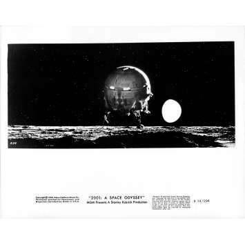2001 L'ODYSSEE DE L'ESPACE Photo de presse 234 - 20x25 cm. - R1974 / 1968 - Keir Dullea, Stanley Kubrick