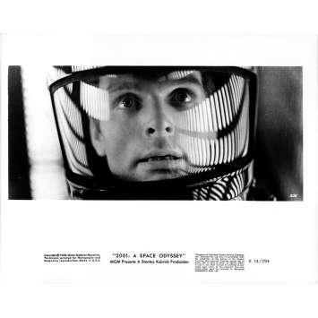 2001 L'ODYSSEE DE L'ESPACE Photo de presse 281 - 20x25 cm. - R1974 / 1968 - Keir Dullea, Stanley Kubrick