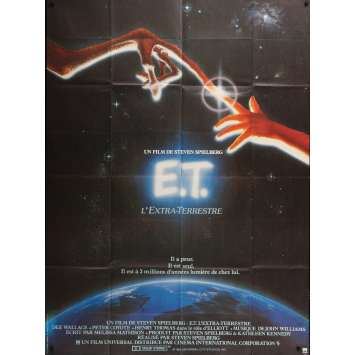E.T. L'EXTRA-TERRESTRE Affiche de film - 120x160 cm. - 1982 - Dee Wallace, Steven Spielberg
