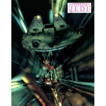 STAR WARS - THE RETURN OF THE JEDI Original Lobby Card N9 - 9x12 in. - 1983 - Richard Marquand, Harrison Ford