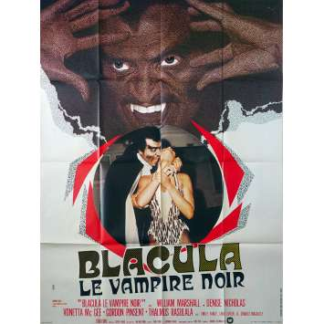 BLACULA French Movie Poster 47x63 - 1972 - William Crain, William Marshall