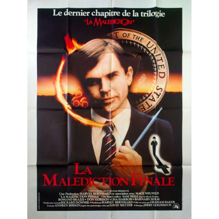DAMIEN LA MALEDICTION FINALE Affiche de film 120x160 - 1981 - Sam Neil, Graham Baker