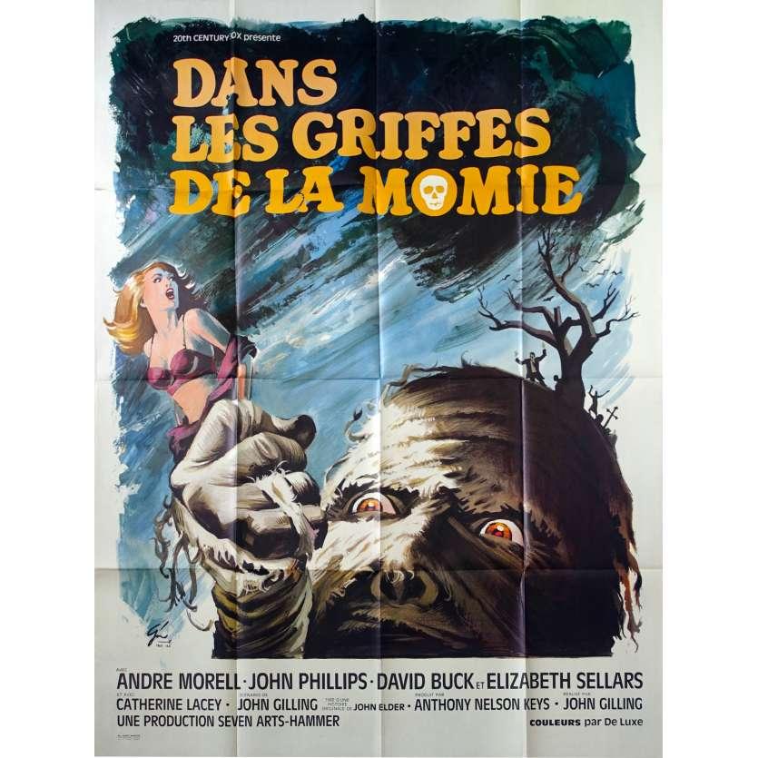 MUMMY'S SHROUD Original Movie Poster - 47x63 - 1967 - Hammer