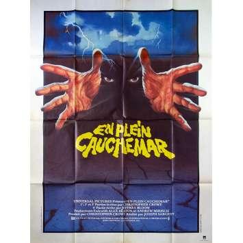 EN PLEIN CAUCHEMAR Affiche de film 120x160 - 1983 - Lance Henriksen