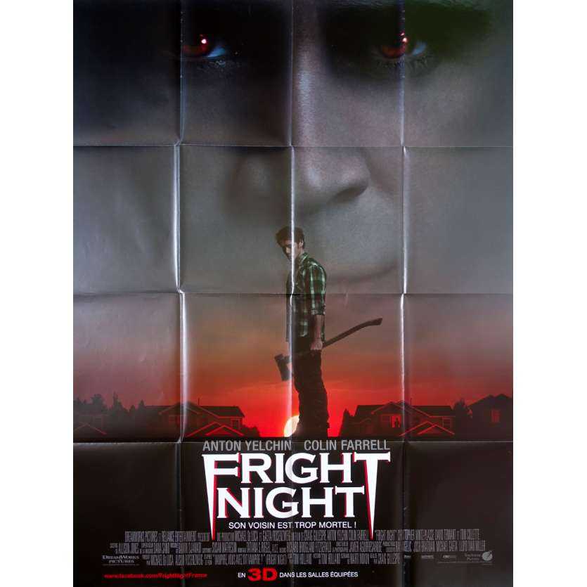 FRIGHT NIGHT Affiche de film 120x160 - 2011 - Colin Farell