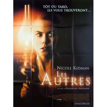 LES AUTRES Affiche de film 120x160 - 2001 - Nicole Kidman, Alejandro Amenabar