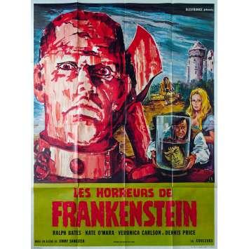 HORREURS DE FRANKENSTEIN Affiche de film 120x160 - 1970 - Hammer Films, Jimmy Sangster