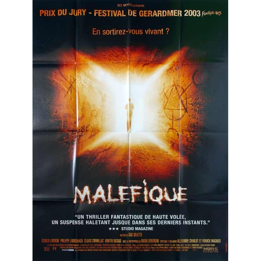 MALEFIQUE Affiche de film 120x160 - 2002 - Eric Valette, Clovis Cornillac