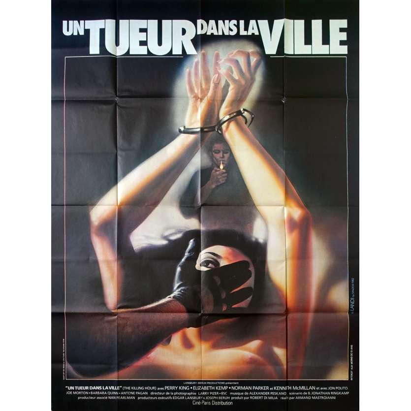 UN TUEUR DANS LA VILLE Affiche de film 120x160 - 1982 - Perry King