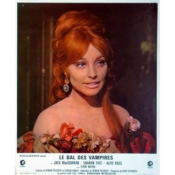 THE FEARLESS VAMPIRE KILLERS Lobby Card 9x12 in. - N12 1967 - Roman Polanski, Sharon Tate