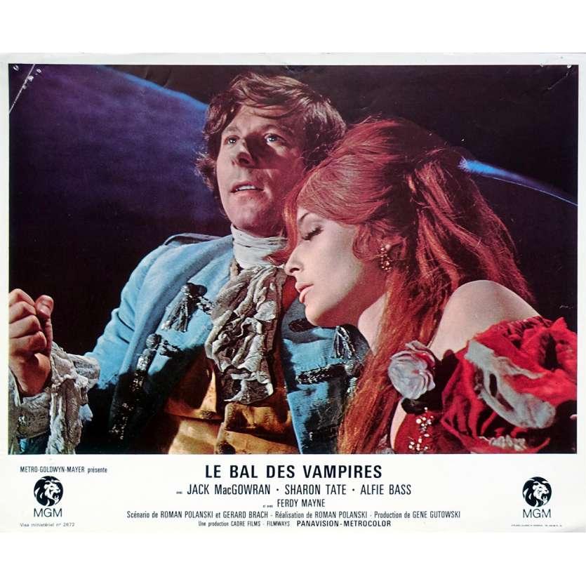 THE FEARLESS VAMPIRE KILLERS Lobby Card 9x12 in. - N06 1967 - Roman Polanski, Sharon Tate