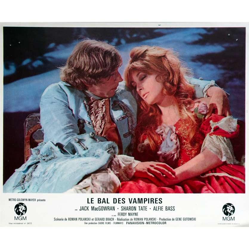 THE FEARLESS VAMPIRE KILLERS Lobby Card 9x12 in. - N07 1967 - Roman Polanski, Sharon Tate