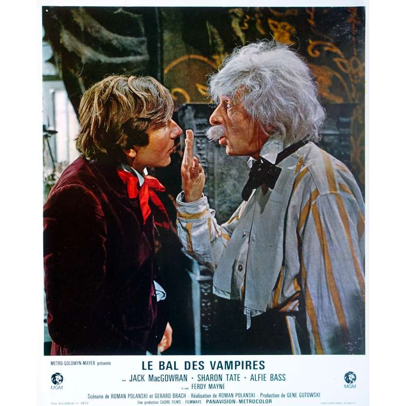 LE BAL DES VAMPIRES Photo de film 21x30 cm - N03 1967 - Sharon Tate, Roman Polanski
