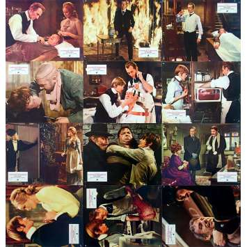 FRANKENSTEIN MUST BE DESTROYED Original Lobby Cards w12 - 9x12 in. - 1969 - Terence Fisher, Peter Cushing