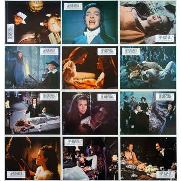 TWINS OF EVIL Original Lobby Cards x12 - 9x12 in. - 1971 - John Hough, Peter Cushing