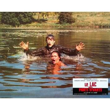 ZOMBIE LAKE Original Lobby Card - 9x12 in. - 1981 - Jean Rollin, Howard vernon