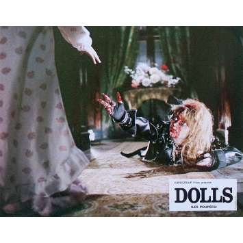 DOLLS Original Lobby Card N2 - 9x12 in. - 1987 - Stuart Gordon, Ian Patrick Williams