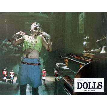 DOLLS Original Lobby Card N1 - 9x12 in. - 1987 - Stuart Gordon, Ian Patrick Williams