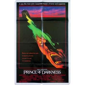 PRINCE OF DARKNESS Original Movie Poster - 27x40 in. - 1987 - John Carpenter, Donald Pleasence