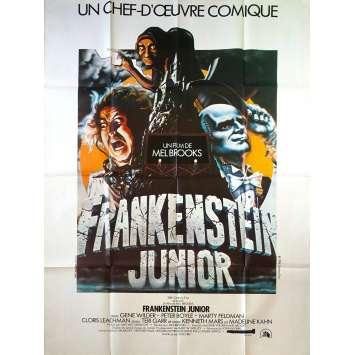 FRANKENSTEIN JR Affiche de film 120x160 cm - 1974 - Gene Wilder, Mel Brooks
