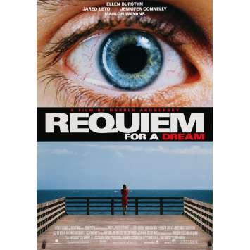 REQUIEM FOR A DREAM Affiche de film US - 2000 - Daren Aronofski