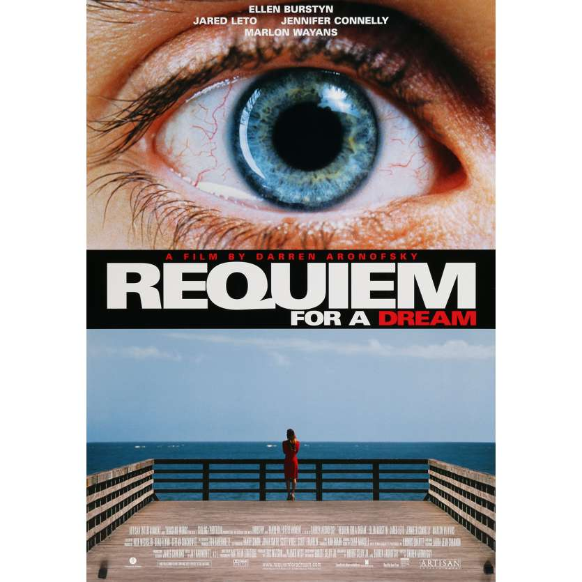 REQUIEM FOR A DREAM Affiche de film US - 2000 - Daren Aronofski
