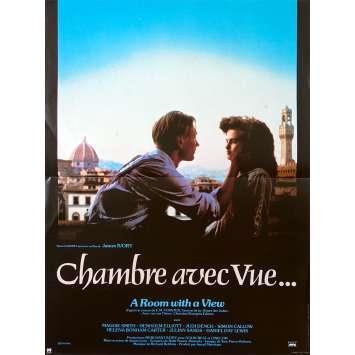 CHAMBRE AVEC VUE Affiche de film - 40x60 cm. - 1985 - Maggie Smith, James Ivory
