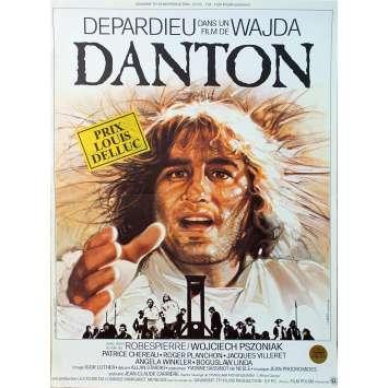 DANTON Original Movie Poster - 15x21 in. - 1984 - Andrzej Wajda, Gérard Depardieu