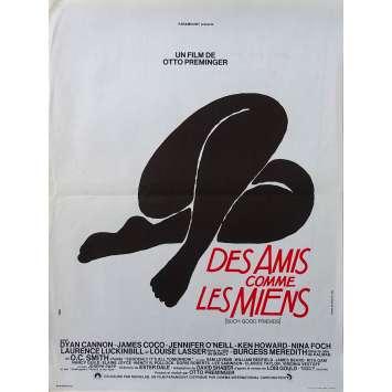 DES AMIS COMME LES MIENS Affiche de film - 40x60 cm. - 1971 - Dyan Cannon, Otto Preminger