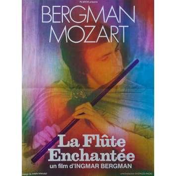 LA FLUTE ENCHANTEE Affiche de film - 40x60 cm. - 1975 - Ulrik Cold, Ingmar Bergman
