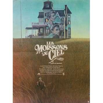 LES MOISSONS DU CIEL Affiche de film - 40x60 cm. - R1999 - Richard Gere, Terence Malick
