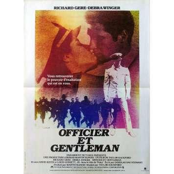 OFFICIER ET GENTLEMAN Affiche de film - 40x60 cm. - 1982 - Richard Gere, Taylor Hackford
