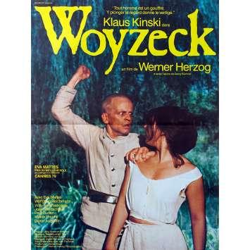 WOYZECK Original Movie Poster - 15x21 in. - 1979 - Werner Herzog, Klaus Kinski