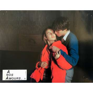 A NOS AMOURS Original Lobby Card N01 - 9x12 in. - 1983 - Maurice Pialat, Sandrine Bonnaire