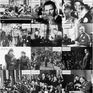 LA LISTE DE SCHINDLER Photos de film x12 - 21x30 cm. - 1993 - Liam Neeson, Steven Spielberg