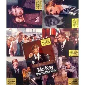 VOTEZ MC KAY Photos de film x7 - 24x30 cm. - 1972 - Robert Redford, Michael Ritchie