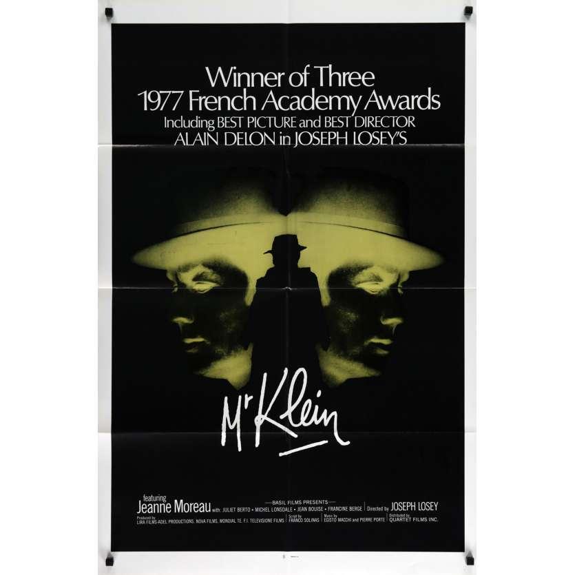 MR. KLEIN US Movie Poster 29x41 - 1977 - Joseph Losey, Alain Delon